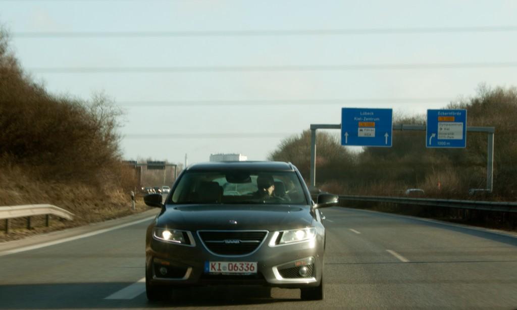 Nr 46 on the German Autobahn.