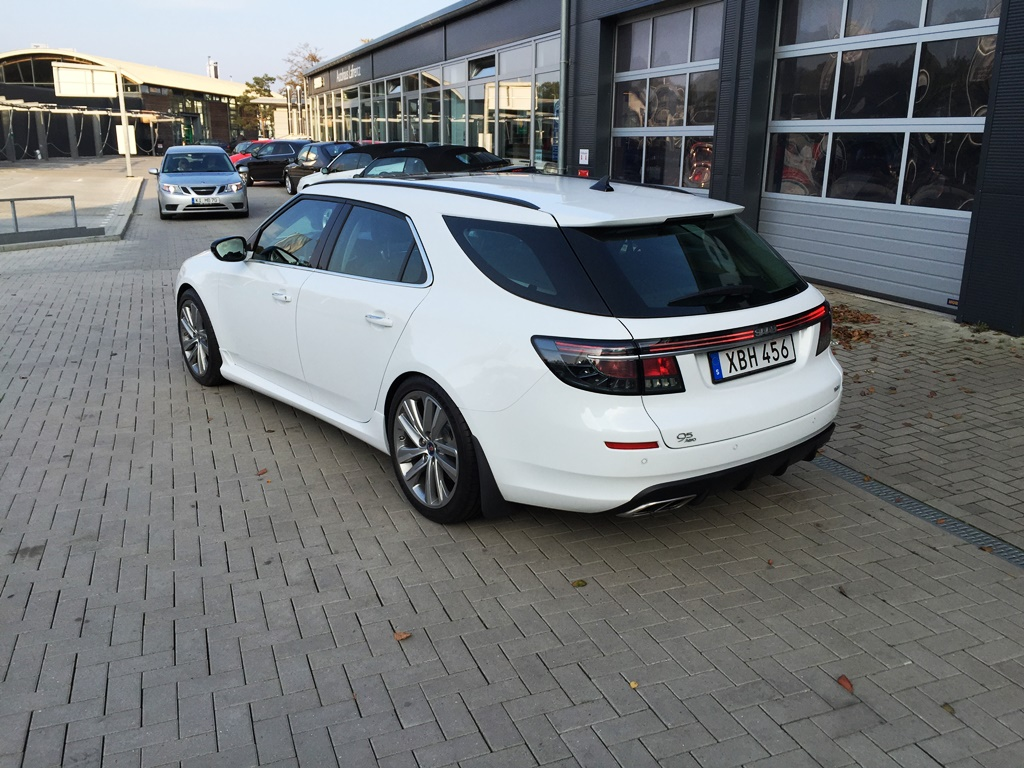 The new diffuser with Hirsch exhaust ©2014 9-5SC2012.com