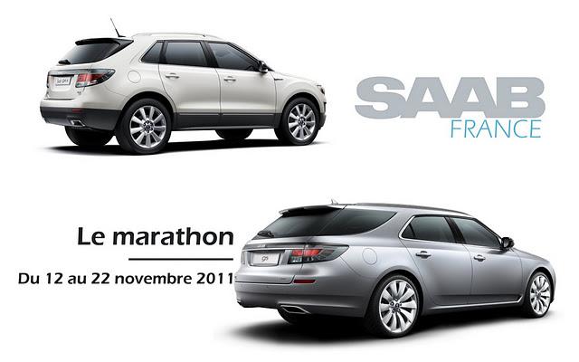 Saab France le marathon